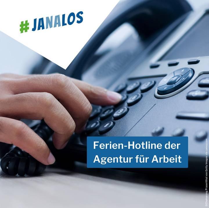 Sommerferien-Hotline der Berufsberatung